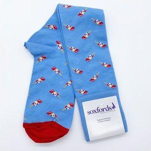 Soxfords Pops! Knee High Dress Socks